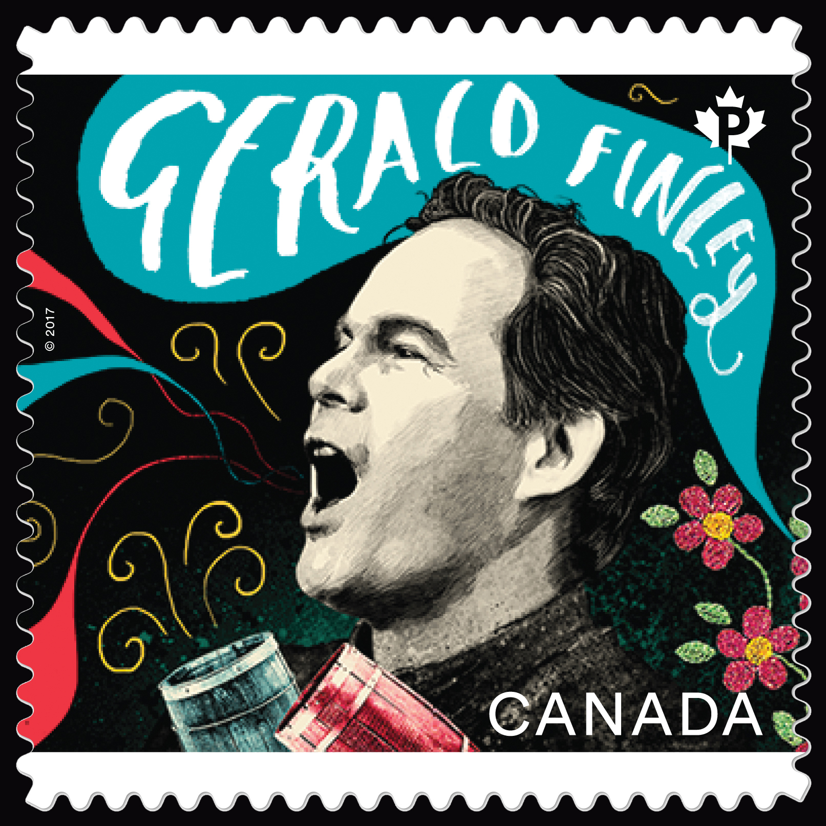 Bass-baritone Gerald Finley - Canadian Opera Canada Postage Stamp | Canadian Opera