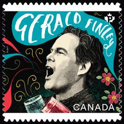 Bass-baritone Gerald Finley - Canadian Opera Canada Postage Stamp | Canadian Opera