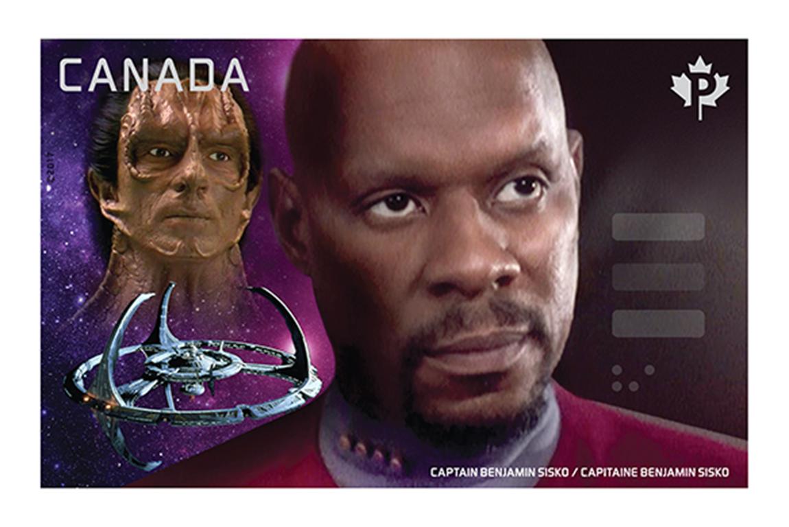 Captain Benjamin Sisko vs. Dukat Canada Postage Stamp   Star Trek