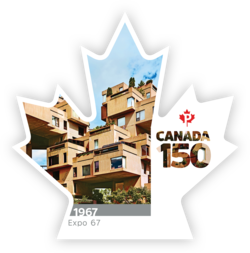 Expo 67 - Canada 150 Canada Postage Stamp | Canada 150