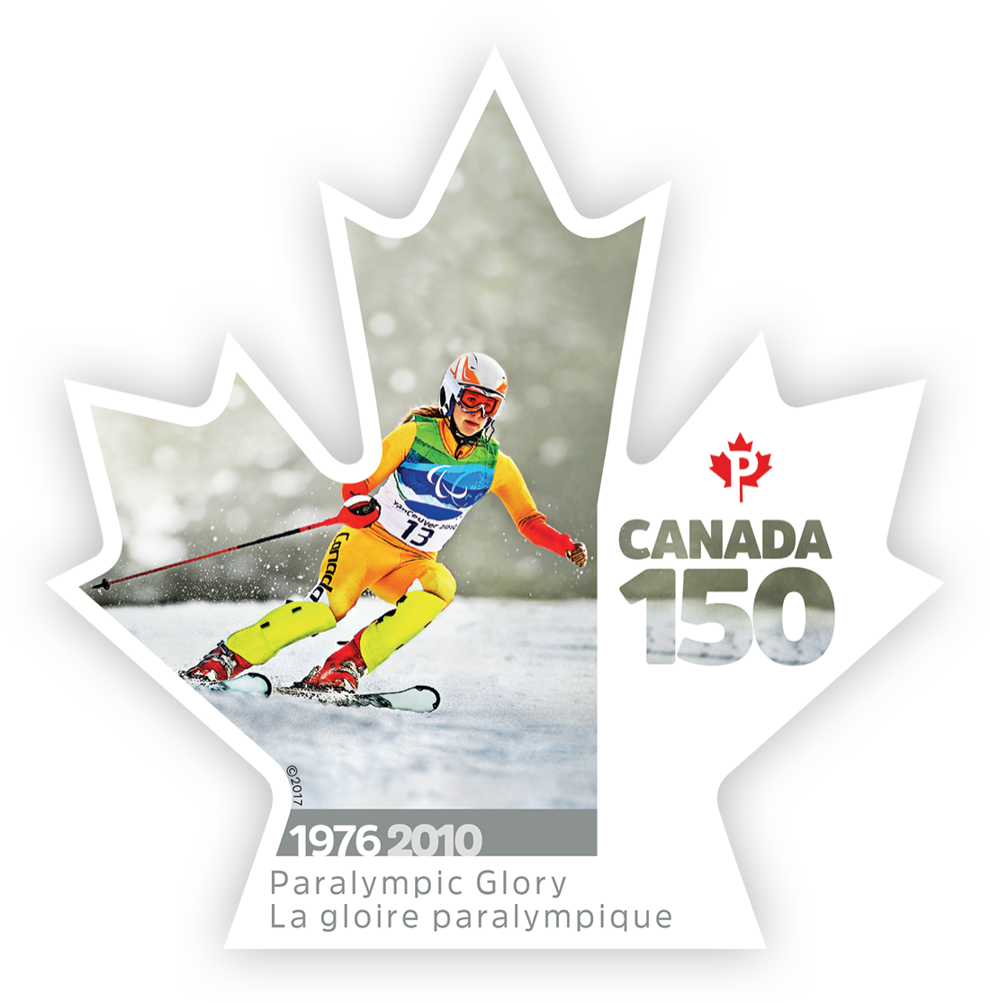 Paralympic Glory - Canada 150 Canada Postage Stamp | Canada 150