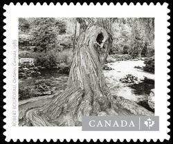 """Ontario, Canada, 1989"" - Robert Bourdeau  Postage Stamp"