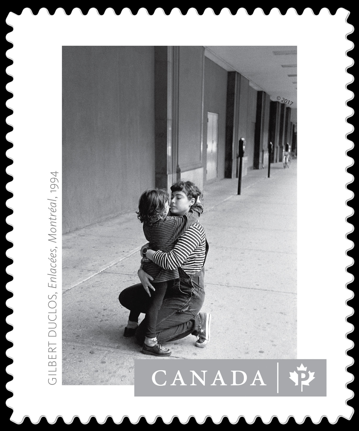 """""""Enlacees, Montreal, 1994"""" - Gilbert Duclos Canada Postage Stamp 