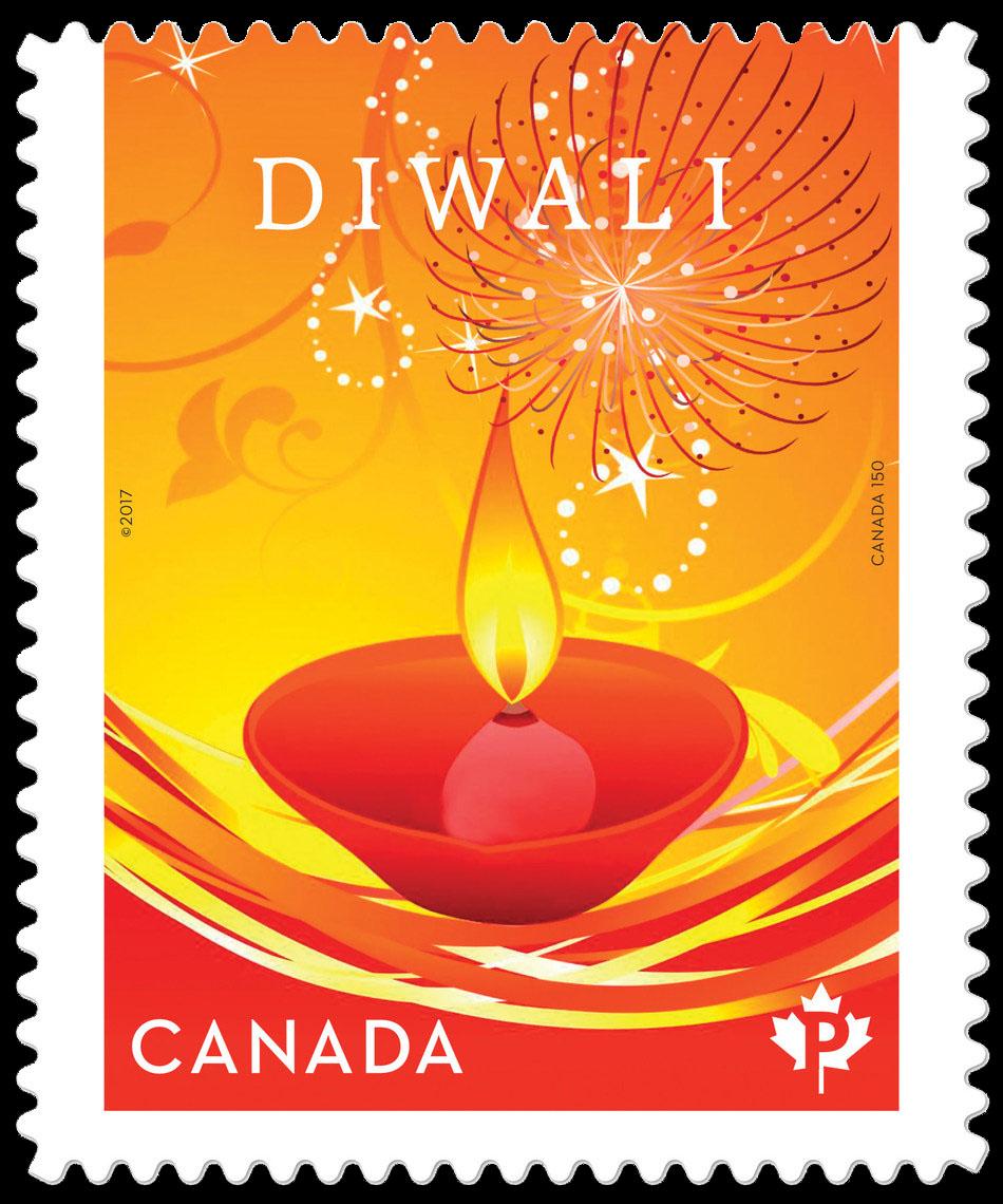 Diwali Canada Postage Stamp