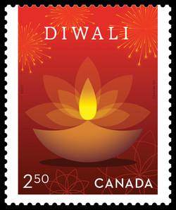 Diwali Canada Postage Stamp | Diwali