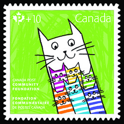 Canada Post Community Foundation 2017 Canada Postage Stamp