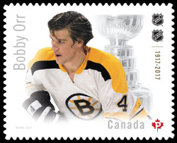 Bobby Orr Canada Postage Stamp | Canadian Hockey Legends
