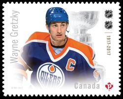 Wayne Gretzky Canada Postage Stamp | Canadian Hockey Legends