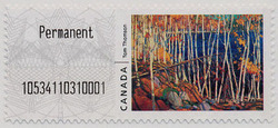 In the Northland - Tom Thomson | Kiosk Canada Postage Stamp