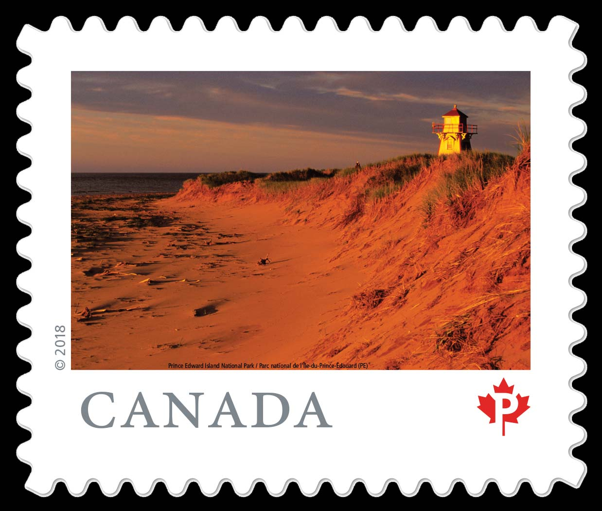 Prince Edward Island National Park (PE) Canada Postage Stamp | From Far and Wide