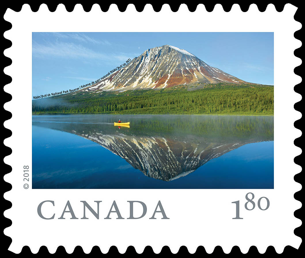 Naats'ihch'oh National Park Reserve (NT) Canada Postage Stamp