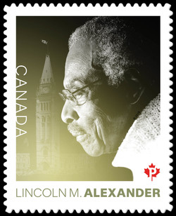 Lincoln MacCauley Alexander Canada Postage Stamp | Black History Month