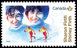 Canadian Women in Winter Sports Canadian Postage Stamp Series