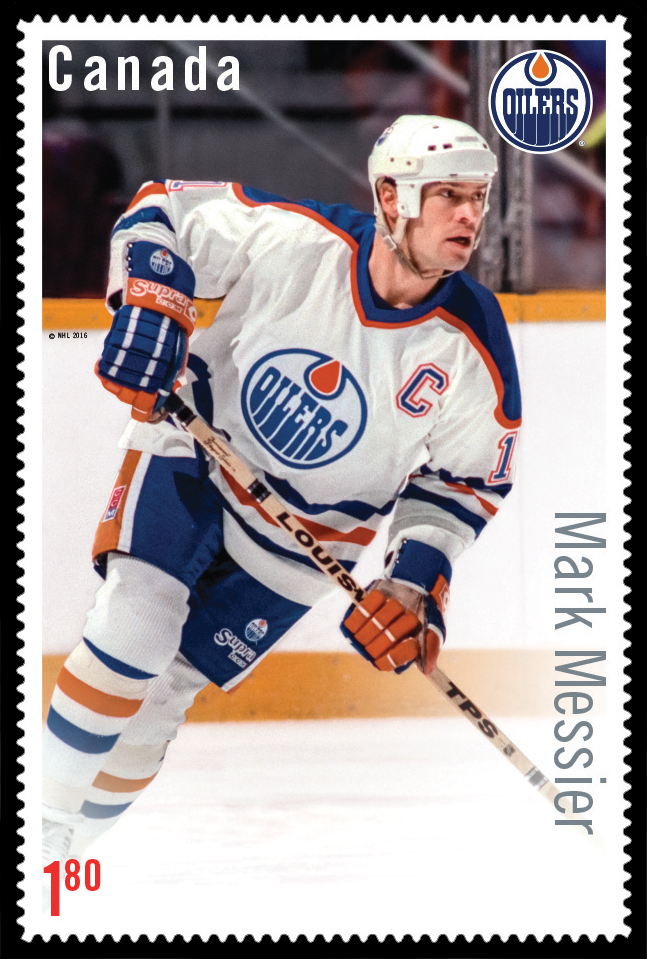 Mark Messier Canada Postage Stamp