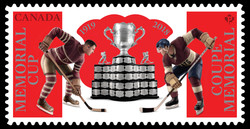 Memorial Cup Canada Postage Stamp