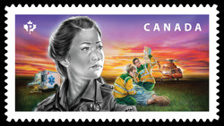 Paramedics Canada Postage Stamp | Emergency Responders