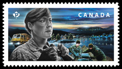 Canadian Armed Forces Canada Postage Stamp | Emergency Responders