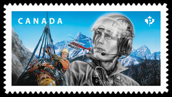 Search and Rescue Experts Canada Postage Stamp | Emergency Responders