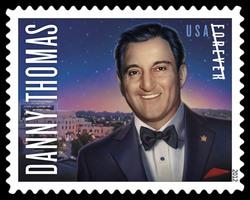 Danny Thomas United States Postage Stamp