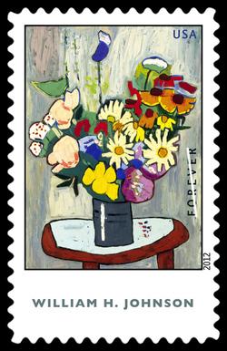 William H. Johnson United States Postage Stamp | American Treasures