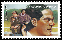 Frank Capra United States Postage Stamp | Great Film Directors