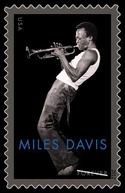 Miles Davis / Edith Piaf US Postage Stamp Series