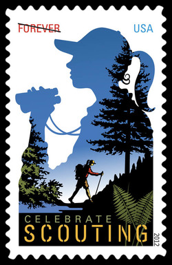 Celebrate Scouting United States Postage Stamp