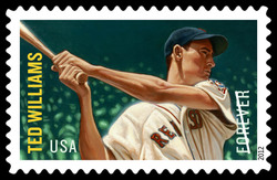 Ted Williams United States Postage Stamp | Major League Baseball All-Stars