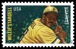 Willie Stargell United States Postage Stamp | Major League Baseball All-Stars