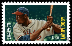 Larry Doby United States Postage Stamp | Major League Baseball All-Stars