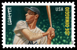 Joe DiMaggio United States Postage Stamp | Major League Baseball All-Stars