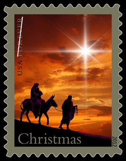 Holy Family - Christmas United States Postage Stamp
