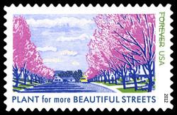 Lady Bird Johnson US Postage Stamp Series