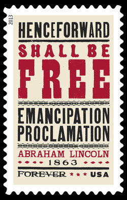 Emancipation Proclamation United States Postage Stamp