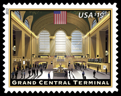 Grand Central Terminal United States Postage Stamp
