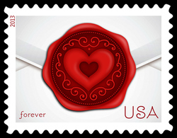 Sealed With Love United States Postage Stamp | Love