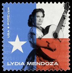 Lydia Mendoza United States Postage Stamp | Music Icons