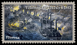 Vicksburg 1863 - The Civil War United States Postage Stamp | Civil War Sesquicentennial