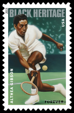 Althea Gibson - Tennis Player United States Postage Stamp | Black Heritage