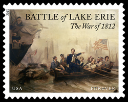 Battle of Lake Erie - War of 1812 United States Postage Stamp | War of 1812