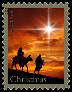 Holy Family United States Postage Stamp
