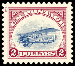 Inverted Jenny United States Postage Stamp