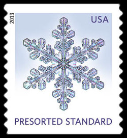 Snowflake #1 United States Postage Stamp | Snowflakes