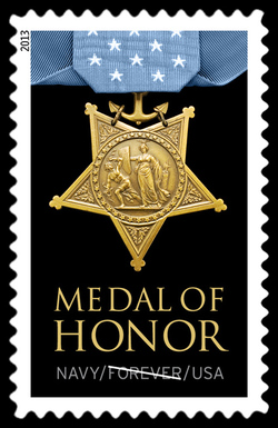 Navy Medal of Honor United States Postage Stamp | Medal of Honor
