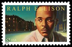 Ralph Ellison United States Postage Stamp | Literary Arts