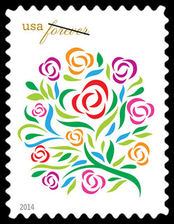 Where Dreams Blossom United States Postage Stamp