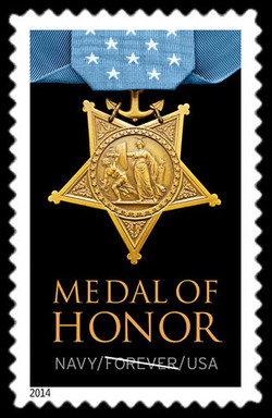 Navy Medal of Honor United States Postage Stamp | Medal of Honor: Korean War
