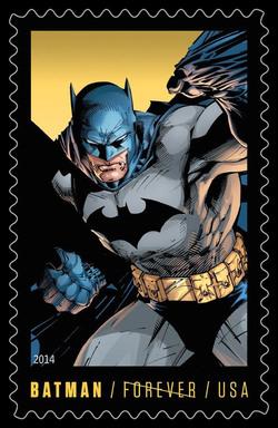 Modern Age Batman United States Postage Stamp | Batman