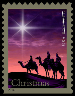 Christmas Magi United States Postage Stamp