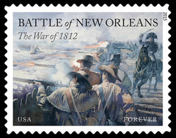 Battle of New Orleans United States Postage Stamp | War of 1812